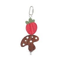 Living World Nibblers Wood Chews – Strawberry & Mushroom on Stick – (Item: 61475))