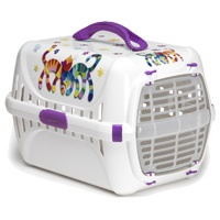 Trendy Runner Pet Carrier – Fun Purple