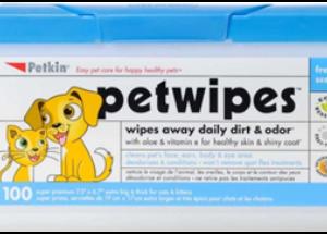 Paw Wipes