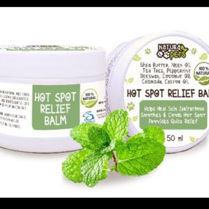All Natural Pet Hot Spot Relief Balm