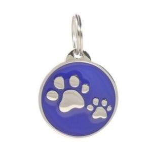Digital Pet ID Tag – Blue