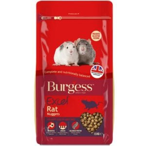 Burgess Excel Rat Nuggets 1.5kg