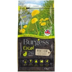 Burgess Excel Nature's Blend Rabbit Nuggets