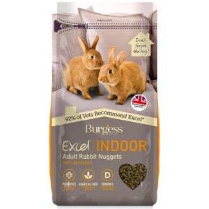 Burgess Excel Indoor Rabbit Nuggets with Dandelion