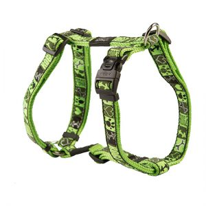 Rogz Fancy Dress Harness –  Lime Juice