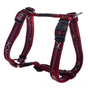 Rogz Fancy Dress Harness –  Red Heart